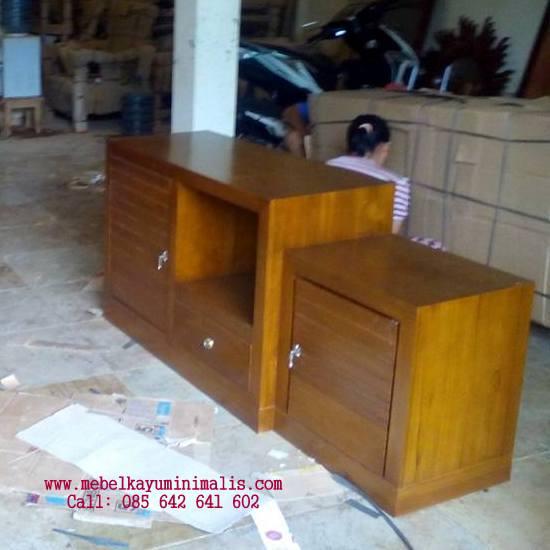 Buffet Minimalis Simpel Pendek TERBARU, TERMURAH, TERLARIS. Toko Furniture Online Terpercaya 085642641602