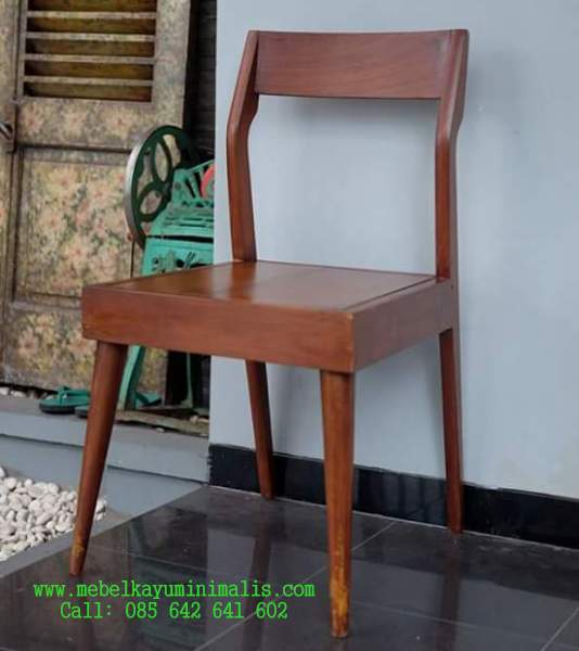 Kursi Makan Kafe Klasik Jepara MKM-051