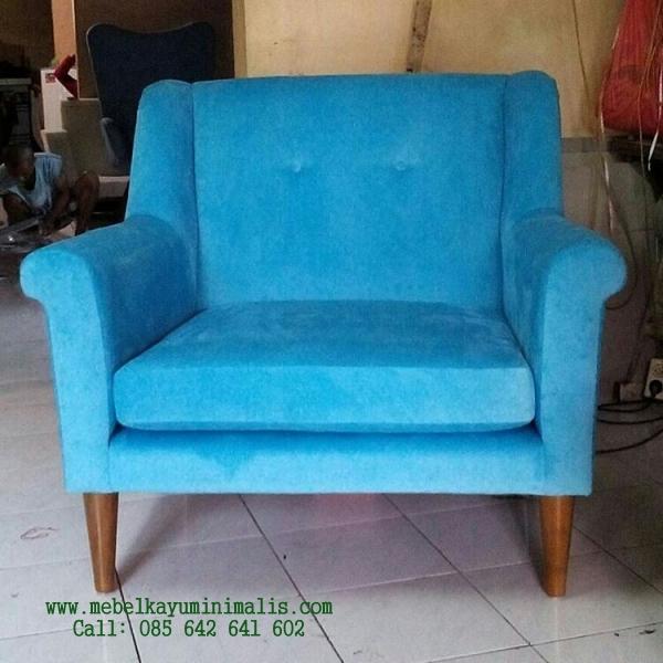 Kursi Sofa Minimalis Modern Jepara MKM-058