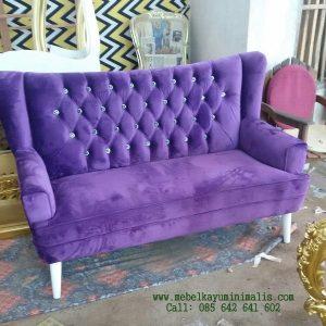Sofa Scandinavian Minimalis Jepara