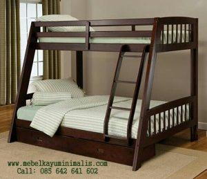 Tempat Tidur Anak Tingkat Double Bed