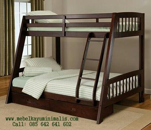 Tempat Tidur Anak Tingkat Double Bed MKM-045