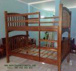 Tempat Tidur Anak Tingkat Jati Minimalis