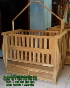 Baby Box Kayu Jati Berkualitas
