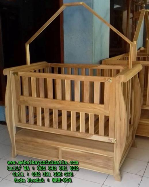 Baby Box Kayu Jati Berkualitas MKM-094