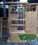 Model Penyekat Ruangan Minimalis Jati