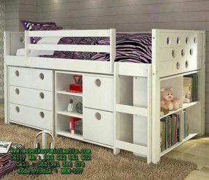 Model Tempat Tidur Anak Minimalis Putih