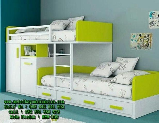 Tempat Tidur Anak Terbaru Cantik MKM-109