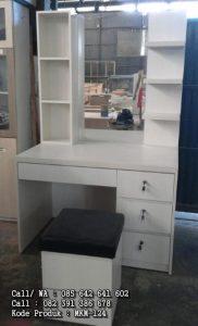 Meja Rias Cermin Minimalis Putih