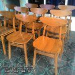 Model Kursi Cafe Minimalis Kayu Jati