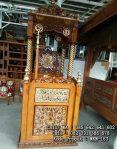 Model Mimbar Masjid Minimalis Kubah Ukiran