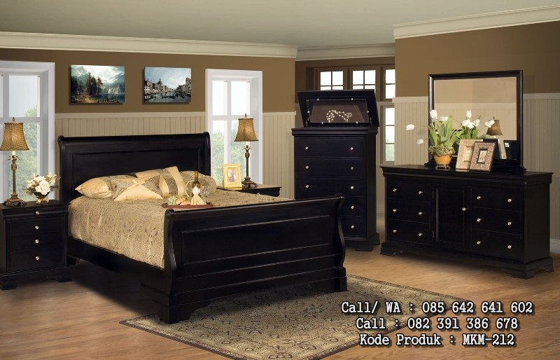 Set Tempat Tidur Minimalis Mewah Cantik