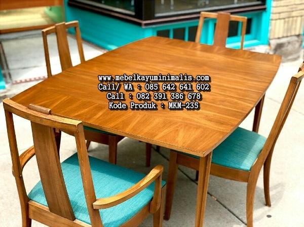 Meja Kursi Cafe Minimalis Modern Terbaru