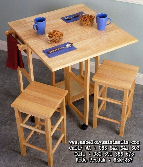 Set Kursi Cafe Minimalis Simple Outdoor