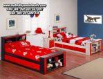 Tempat Tidur Anak Sorong Kayu Minimalis