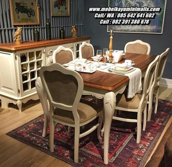 Kursi Makan Minimalis Sofa Cantik