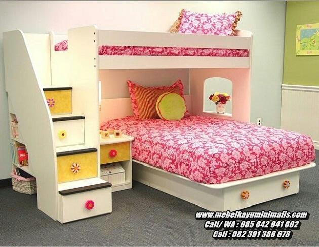 Ranjang Tingkat Anak Minimalis Double Bed